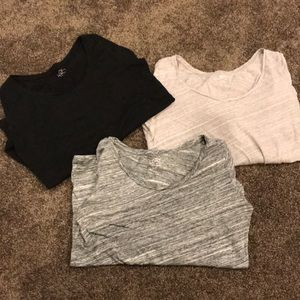 3 Ann Taylor Long Sleeves